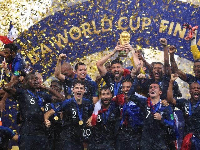 Actu : la victoire des bleus à la coupe du monde
